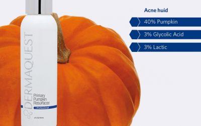 Acne aanpakken? Probeer de Power Pumpkin Resurfacer